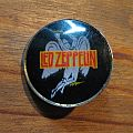 LED ZEPPELIN Swan Song vintage crystal/enameled badge *GONE*