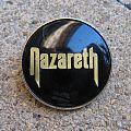 Nazareth - Other Collectable - NAZARETH Logo vintage crystal/enameled badge