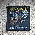 MEGADETH So Far, So Good... So What! vintage woven patch