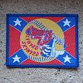 LYNYRD SKYNYRD - Patch - LYNYRD SKYNYRD Freebird original woven patch (blue border)