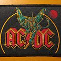 """AC/DC """"Monsters of Rock - Donington 1981 dragon"""" (golden outline) patch *SOLD*"""