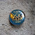 OZZY OSBOURNE Speak Of The Devil vintage crystal pin Pin / Badge