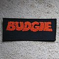 BUDGIE logo vintage embroidered patch