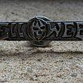 Helloween - Pin / Badge - HELLOWEEN logo vintage cast pin back