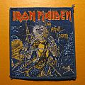 "IRON MAIDEN ""Live After Death"" original patch (first version - blue border)"