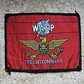 W.A.S.P. The Last Command original woven patch