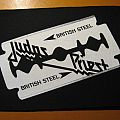 "JUDAS PRIEST ""British Steel"" small backpatch"