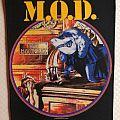 M.O.D. Gross Misconduct original backpatch