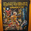 "IRON MAIDEN ""Somewhere In Time"" back patch [not for sale or trade]"