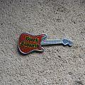 BLACK SABBATH prismatic logo vintage guitar brooch Pin / Badge