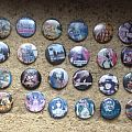 Iron Maiden - Pin / Badge - Vintage 80s badges job lot (used)