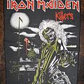 IRON MAIDEN Killers original backpatch