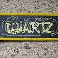 "Quartz - Patch - QUARTZ Street Fighting Lady 7"" logo vintage printed mini-strip"