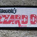"""Ozzy Osbourne - Patch - OZZY Ossie Osbourne's Blizzard Of Oz original printed """"satin"""" patch (Reading..."""