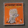 ATTENTAT ROCK Le Gang Des Saigneurs woven patch (silver border)