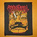 """SEPULTURA """"Aztec Face"""" original patch *GONE*"""