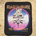 IRON MAIDEN The Clairvoyant original printed patch