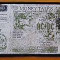 """AC/DC """"Moneytalks - £50 bill"""" original woven patch *GONE*"""