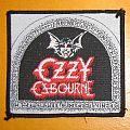 "OZZY OSBOURNE ""Speak Of The Devil / bat head"" square patch"