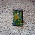 IRON MAIDEN Piece Of Mind vintage enameled pin Pin / Badge