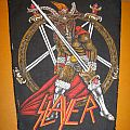 """SLAYER """"Show No Mercy"""" vintage backpatch"""