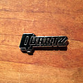 "QUARTZ ""Stand Up And Fight logo"" original enameled pin"