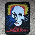 BLACK SABBATH skull & cobweb vintage printed patch