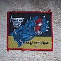 ACCEPT Balls To The Wall original woven patch (red border)