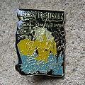 IRON MAIDEN Live After Death original enameled pin back Pin / Badge