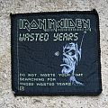IRON MAIDEN Wasted Years original woven patch