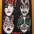 "KISS ""Dynasty"" iron-on felt patch"