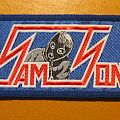 "SAMSON ""Logo / Thunderstick"" mini strip patch"