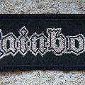 RAINBOW logo vintage woven mini-strip Patch
