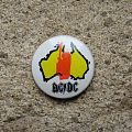 AC/DC Let There Be Rock / Australia vintage button Pin / Badge