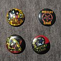 MÖTLEY CRÜE job lot of vintage buttons