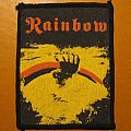 "RAINBOW ""Rising"" vintage printed patch *GONE*"