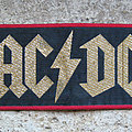 AC/DC Powerage  woven strip Patch