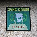 GANG GREEN I81B4U original woven patch (black border)