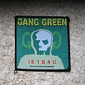 GANG GREEN I81B4U original woven patch (black border)