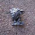 RAVEN Architect Of Fear vintage cast pewter brooch Pin / Badge