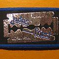 """JUDAS PRIEST """"British Steel - razor blade"""" patch"""