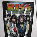 KISS Heaven's On Fire Tour vintage backpatch