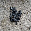 IRON MAIDEN The Trooper vintage cast metal badge Pin / Badge