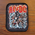 AC/DC - Patch - AC/DC Blow Up Your Video original printed patch