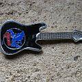BLACK SABBATH Henry vintage guitar brooch Pin / Badge