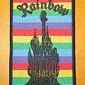 "RAINBOW ""Ritchie Blackmore's Rainbow / castle"" patch"
