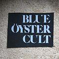 Blue Öyster Cult - Patch - BLUE ÖYSTER CULT vintage cut-out printed patch