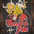 Mercyful Fate - Patch - MERCYFUL FATE Don't Break The Oath / King Diamond on stage vintage backpatch