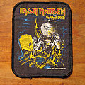 IRON MAIDEN Live After Death original printed patch