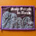 DEEP PURPLE In Rock original woven patch (purple border)